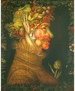 Giuseppe Arcimboldo, Der Sommer. 1573