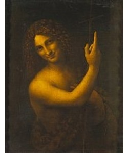 Leonardo da Vinci, Johannes der Täufer. 1513/16