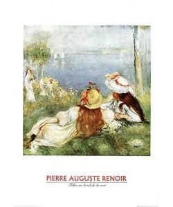 Pierre-Auguste Renoir, Mädchen in Riva (Offset)