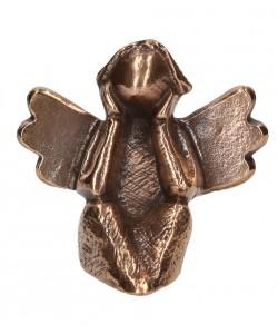 Kerstin Stark, Bronzefigur Engel - Zeit für dich, 6,5 x 7cm
