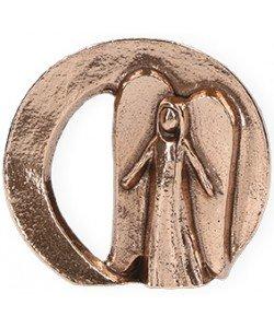 Kerstin Stark, Bronzefigur Ein Engel für dich, 6 x 6,5cm