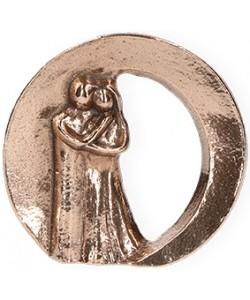Kerstin Stark, Bronzefigur Zweisamkeit, 6 x 6,5cm