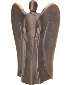 Kerstin Stark, Bronzefigur Dein Engel, 11 x 7 x 4cm