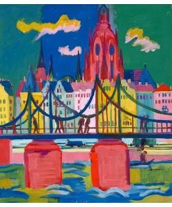 Ernst Ludwig Kirchner, Frankfurter Dom. 1925.