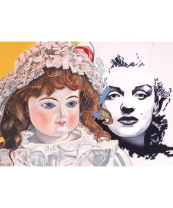 Erró  Marilyn (2005) (Lithographie, handsigniert)