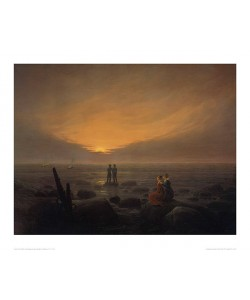 Caspar David Friedrich, Mondaufgang am Meer, Eremitage (Offset)