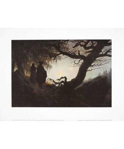 Caspar David Friedrich, Frau und Mann betrachten den Mond (Offset)