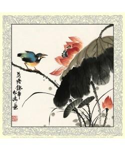 Songtao China Gao, Lustige Begebenheit am Gartenteich