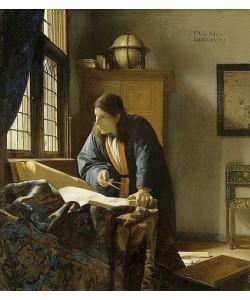Jan Vermeer van Delft, Der Geograph. 1669