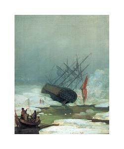 Caspar David Friedrich, Schiff im Eismeer