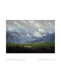 Caspar David Friedrich, Ziehende Wolken (Offset)