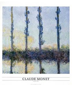 Claude Monet, Four trees, 1891