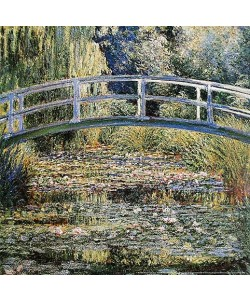 Claude Monet, Water Lily Pond, 1899