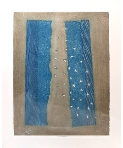 Piza Arthur Faille bleue (30) (Radierung, handsigniert, 79/99)