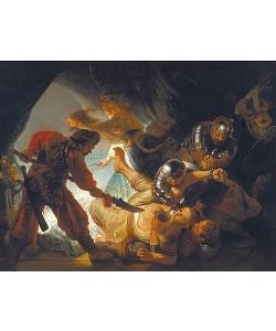 Rembrandt van Rijn, Die Blendung Simsons. 1636.
