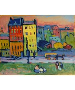 Wassily Kandinsky, Houses in Munich