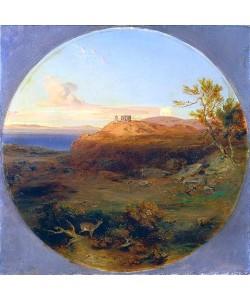 Carl Rottmann, Griechische Landschaft auf der Insel Aegina.