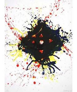 Francis Sam Untitled (20) (Lithographie, handsigniert, nummeriert)