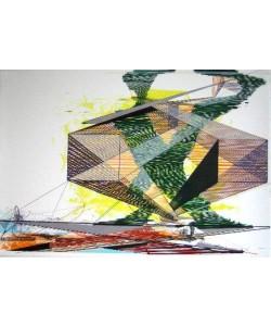 Krag Ferdinand Struktur (30) (Lithografie, handsigniert, nummeriert)