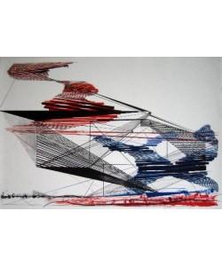 Krag Ferdinand Konstruktion (30) (Lithografie, handsigniert, nummeriert)