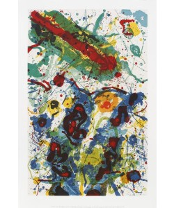 Sam Francis, Untitled 1989 L 282/SF 341