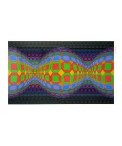 Vasarely Victor Ohne Titel XLI (Siebdruck, handsigniert, nummeriert)