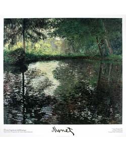 Claude Monet, Teich in Montgeron