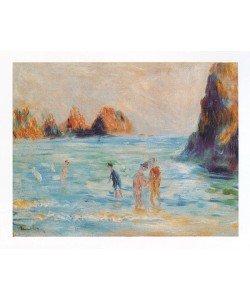 Pierre-Auguste Renoir, Bucht Guernesey (Offset)
