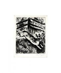 Chagall Marc Der Hase u.die Frösche (20) (Radierung, signiert)