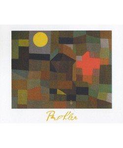 Paul Klee, Feuer bei Vollmond (Offset)