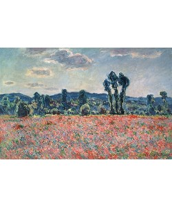 Claude Monet, Mohnfeld. 1880