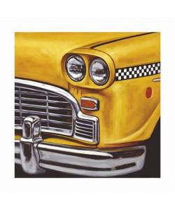 Boekhoff Klaus NY Taxi (Pigmentdruck, handsigniert)
