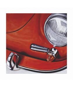 Boekhoff Klaus Porsche 356 (Pigmentdruck, handsigniert, nummeriert)
