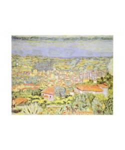 Pierre Bonnard, Panorama La Cannet, 1941 (Offset)