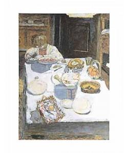Pierre Bonnard, Der Tisch, 1925 (Offset)