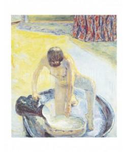 Pierre Bonnard, Akt in Wanne, 1918