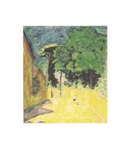 Pierre Bonnard, Weg in Vernonnet