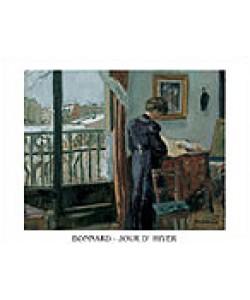 Pierre Bonnard, Wintertag - Jour D`Hiver (Offset)