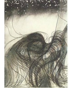 Antunez Nemesio La Magdalena (30) (Lithografie, handsigniert)