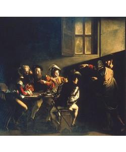 Michelangelo Merisi da Caravaggio, Die Berufung des Hl. Matthäus. 1599/1600