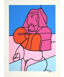 Adami Valerio Schweiz Sphinx (30) (Siebdruck, handsigniert, nummeriert)