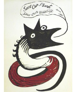 Calder Alexander Save our Planet (30) (Siebdruck, 1971)