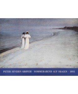 Peder Severin Kroyer, Sommerabend auf Skagen (Offset)