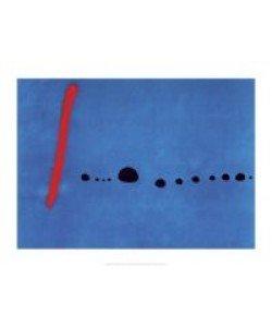 Joan Miro, Bleu II (Offset)