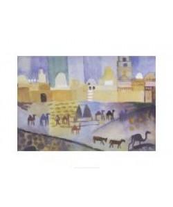 August Macke, Kairouan I (klein) (Offset)