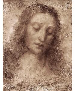 Leonardo da Vinci, Das Antlitz Christi.