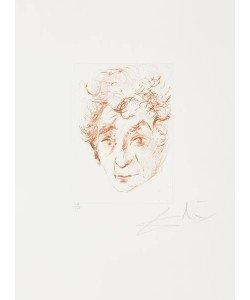 Dali Salvador Chagalls Kopf - Quinze Gravures (Radierung, handsigniert, nummeriert)