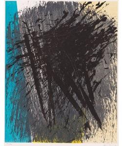 Hartung Hans O.T. (Explosion) (20) (Lithographie, handsigniert, nummeriert)
