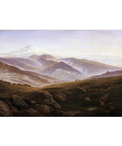 Caspar David Friedrich, Erinnerungen an das Riesengebirge. 1835.
