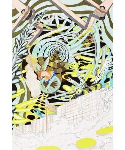 Boesen Trine The Station (Lithografie, handsigniertn nummeriert)